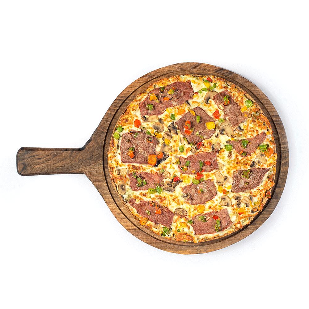 پیتزا استیک پستو
