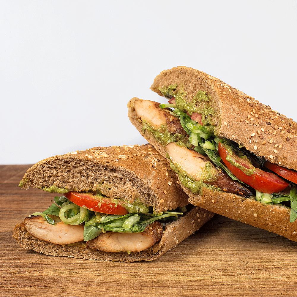 ساندویچ چیکن پستو