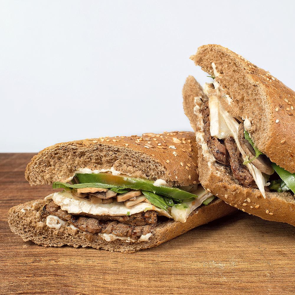 ساندویچ استیک نرماندی