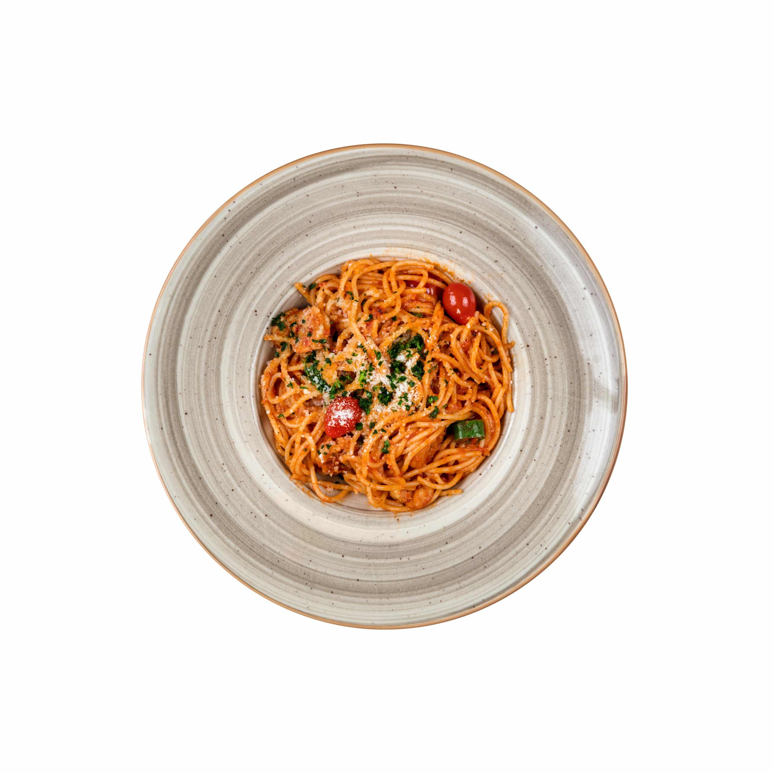 اسپاگتی میگو پومودورو