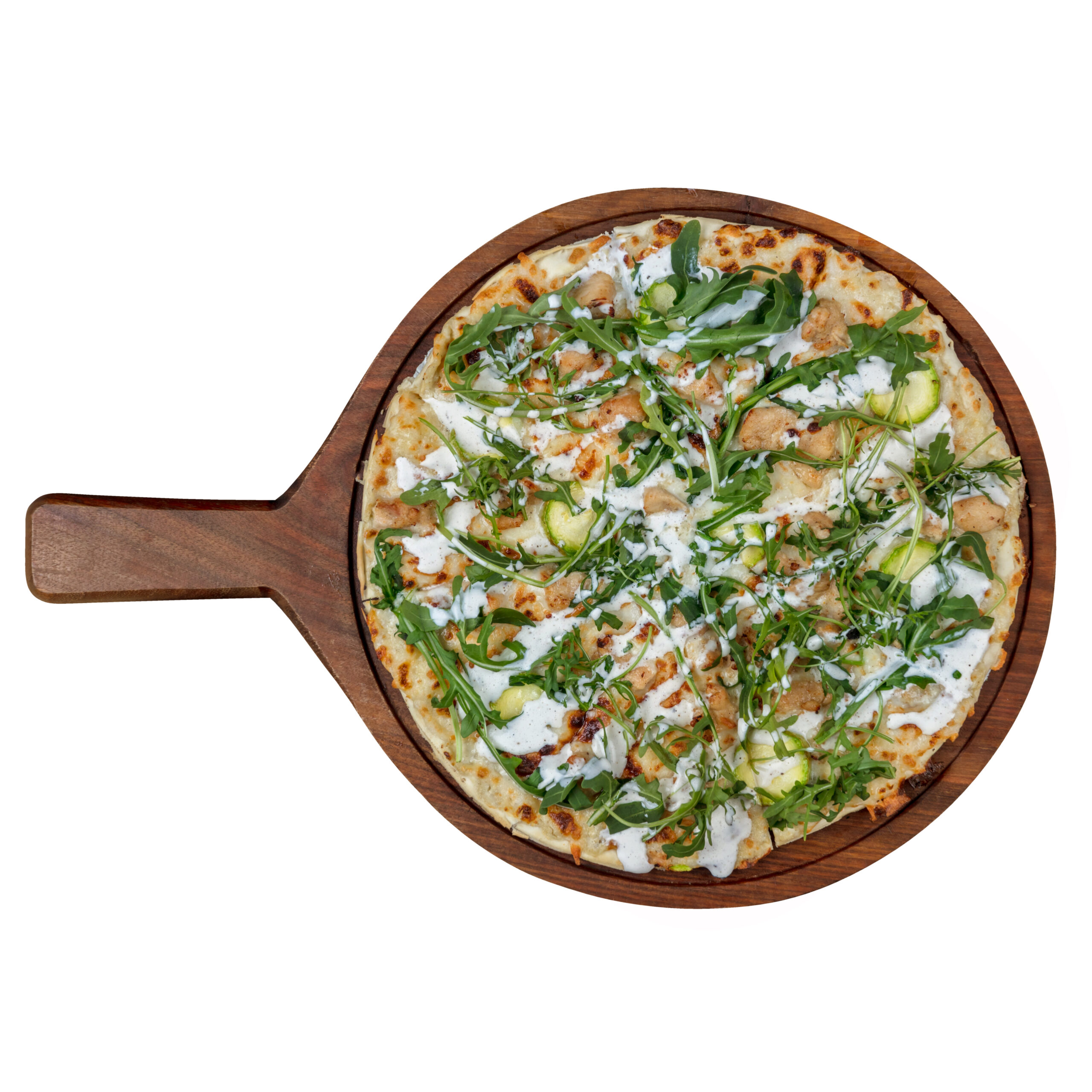پیتزا مرغ سزار